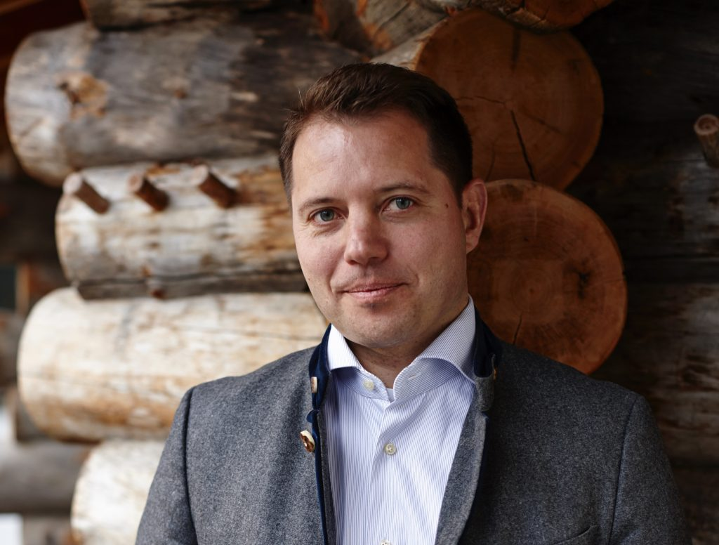 Christian Bär, Geschäftsführer und Direktor des Alpenhof Murnau